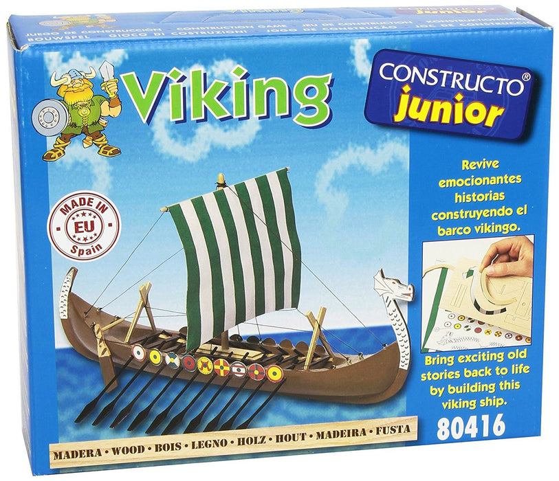 Constructo - Viking Ship Building Set