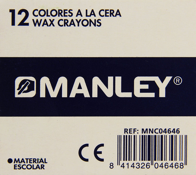 Manley 21 Pack of 12 Wax Crayons