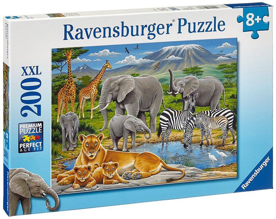Ravensburger Animals in Africa XXL Jigsaw Puzzle (200 Pieces)