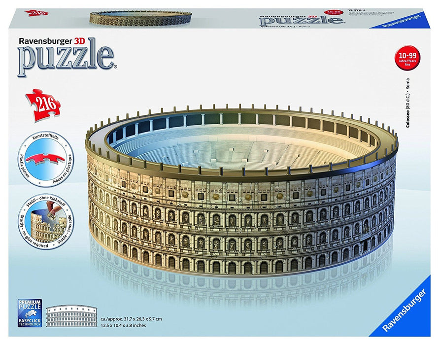 Ravensburger Coloseum Building 3D Puzzle (216 Pieces)