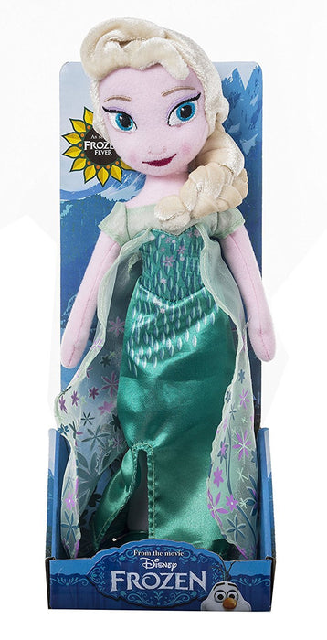 Frozen Fever Elsa Plush Toy (Multi-Colour)
