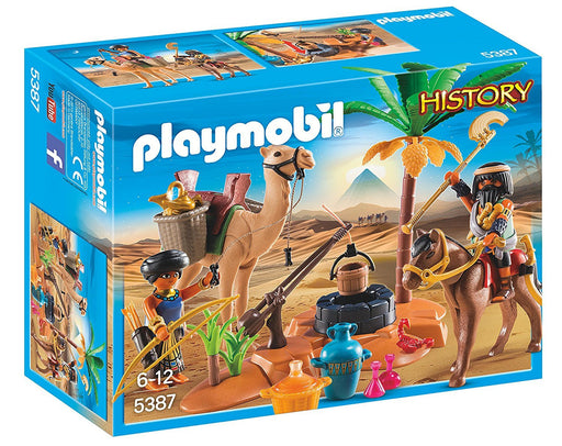 "Playmobil 5387 ""History Egyptian Tomb Raiders' Camp"" Playset"