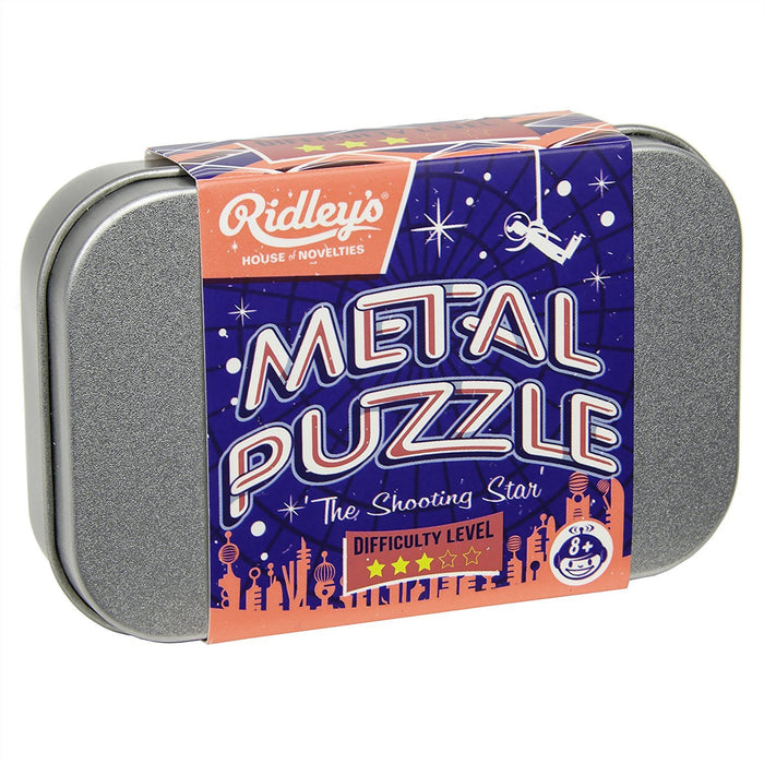 Ridley's Utopia Shooting Star Metal Puzzle