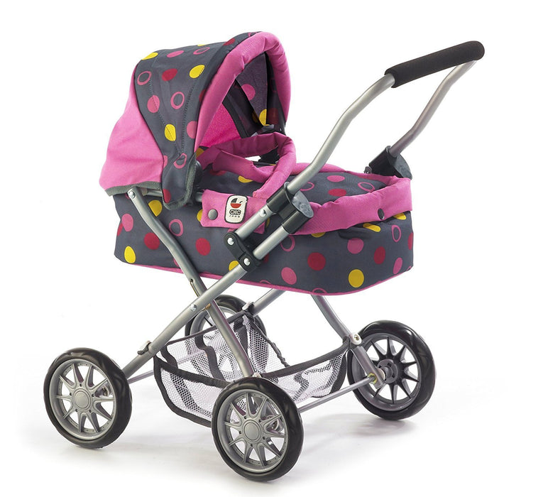 CHIC 2000 Bayer Smarty Cosy Pram (Small, Funny Pink)