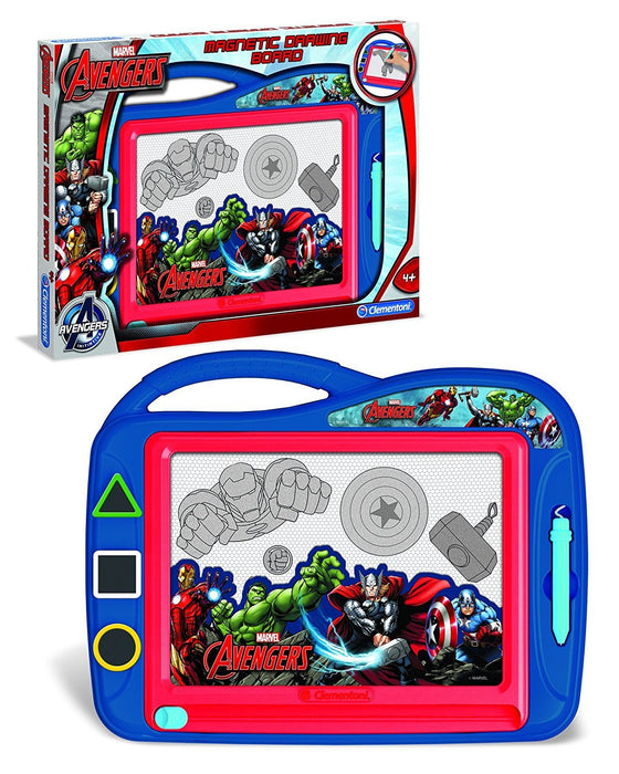 Clementoni 15996 Avengers Magnetic Drawing Board
