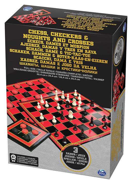 Spinmaster 6033146 Chess/Checkers /TTT