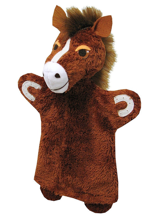 ABA ABA71078 32 cm Horse Hand Puppet
