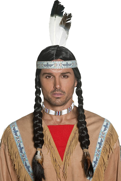 Smiffy's Native Indian Wig