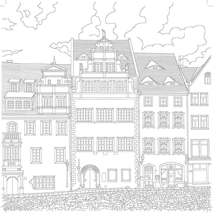 Kaisercraft Scenic Sights Coloring Book,