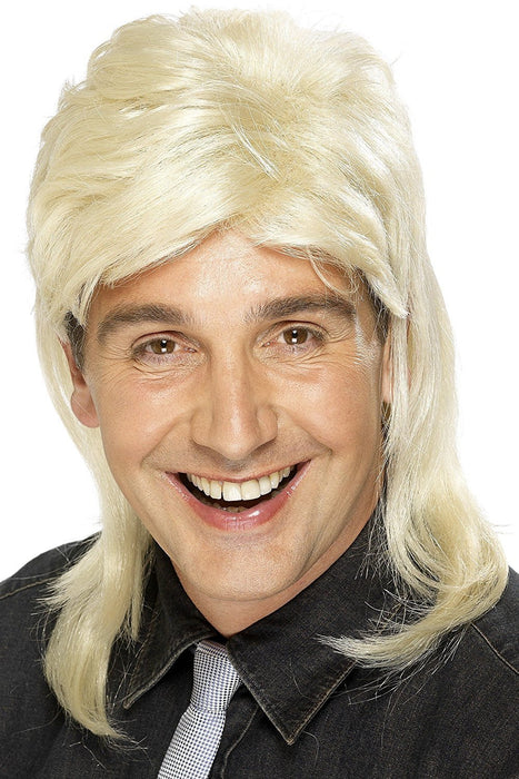 Smiffy's Mullet Wig - Blonde