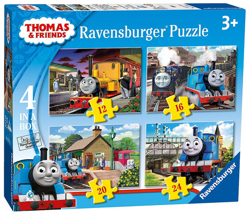 Ravensburger Thomas & Friends 4 in Box (12, 16, 20, 24pc) Jigsaw Puzzles