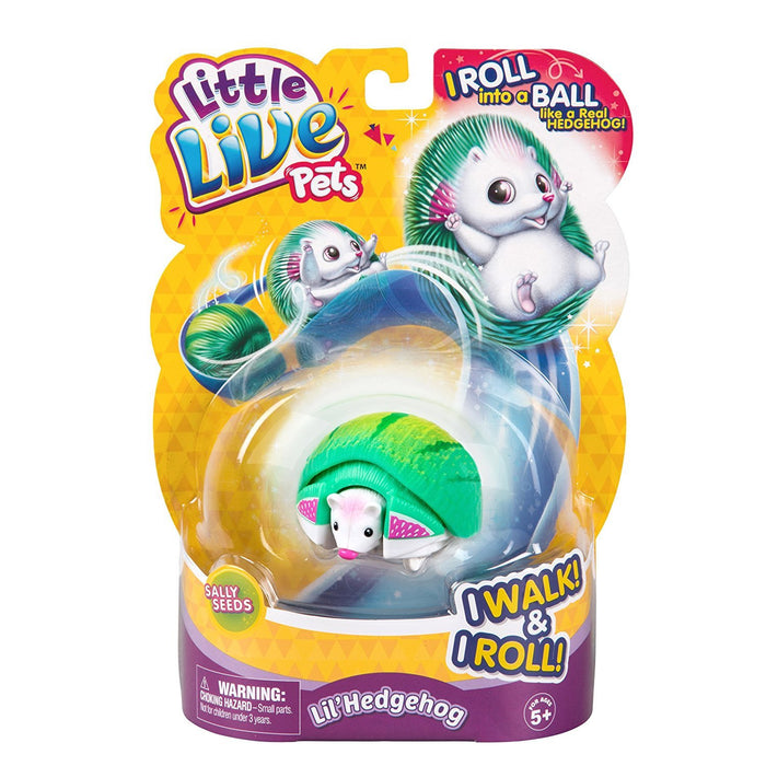 "Little Live Pets 28334 ""Hedgehog"" Toy Assorted color Styles May Vary"