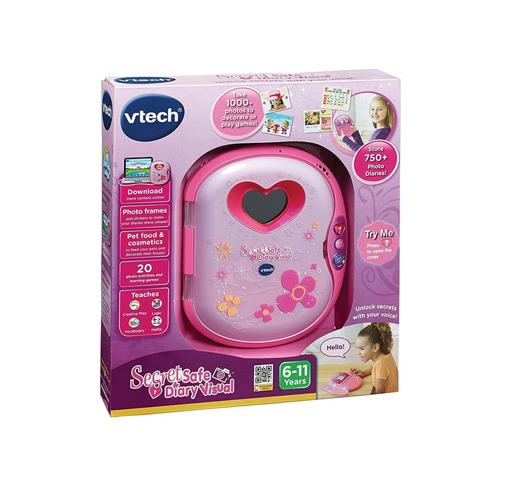VTech Secret Safe Diary Visual - Pink