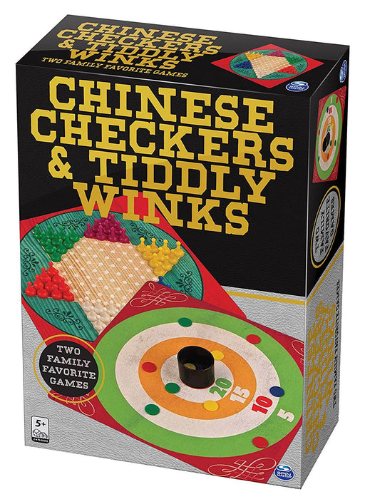 "Spinmaster 6036792 ""Chinese Checkers/Tiddly Winks"" Game"