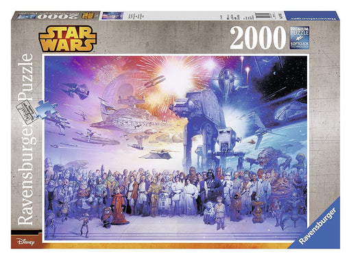 Ravensburger Star Wars Episode I - VI, Saga 2000pc Jigsaw puzzle