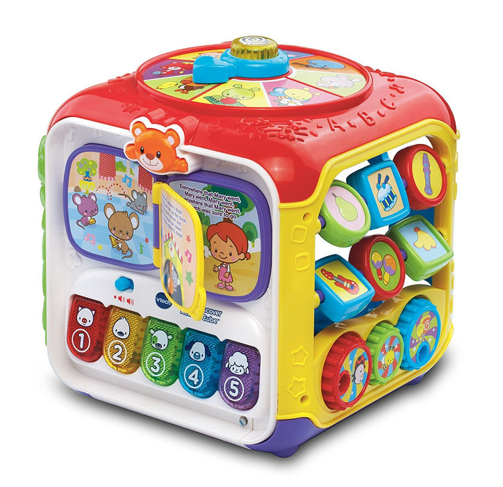 VTech Sort & Discover Activity Cube