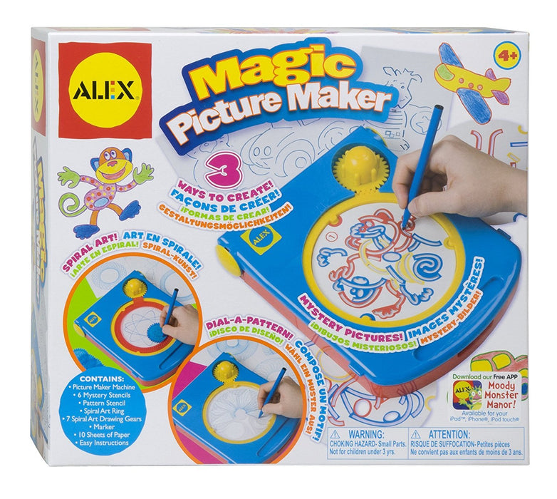 Alex Toys Artist Studio 3-in-Magic Picture Maker