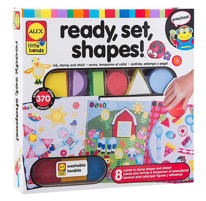 ALEX Toys Little Hands Ready Set Shapes Craft