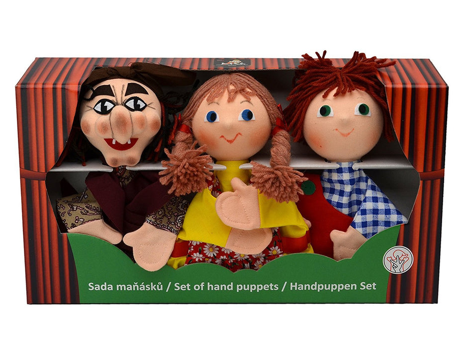 ABA ABA71210 9 x 19 x 34 cm Hansel and Gretel Hand Puppet Box