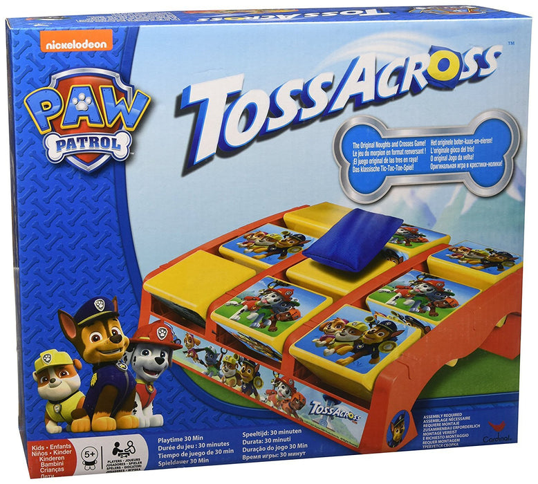 Paw Patrol 6028797 Table Top Toss and Cross Junior Game