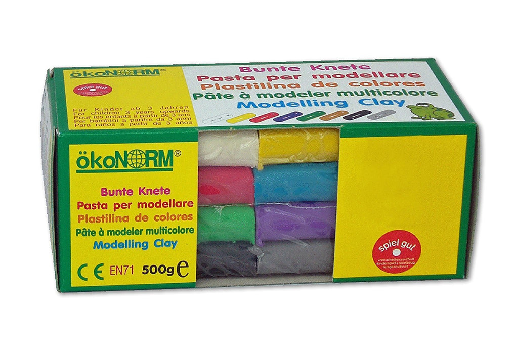 ökoNORM 76800 Modelling Clay Assorted Colours 500 g