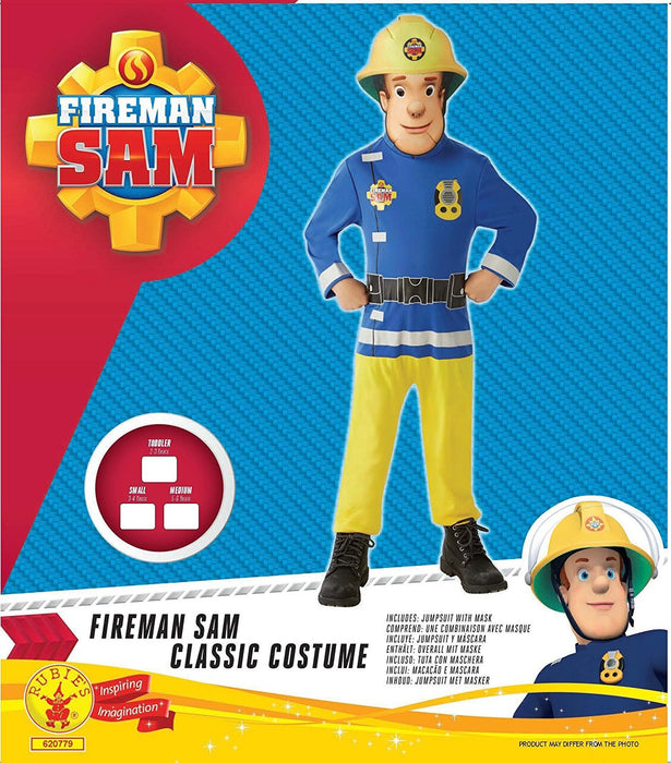 Rubie's Official Classic Fireman Sam, Child Costume - Small