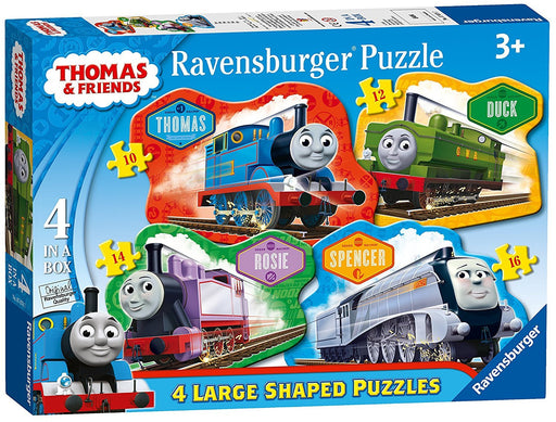 Ravensburger Thomas & Friends 4 Shaped Jigsaw Puzzles (10,12,14,16pc)