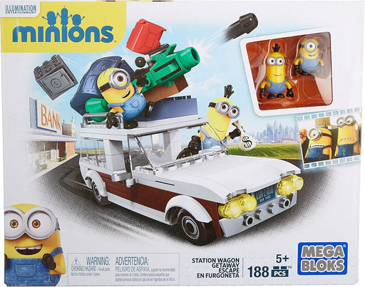 MegaBloks Minion Movie Station Wagon Getaway Toy