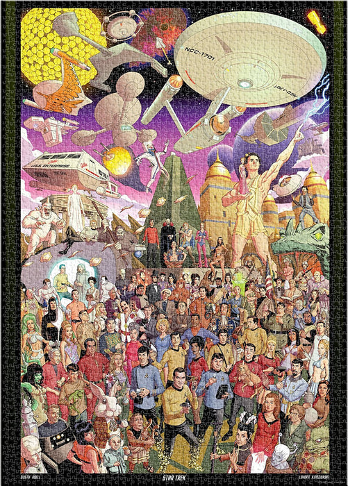 Aquarius Star Trek 50th Anniversary Puzzle (3000 Piece)