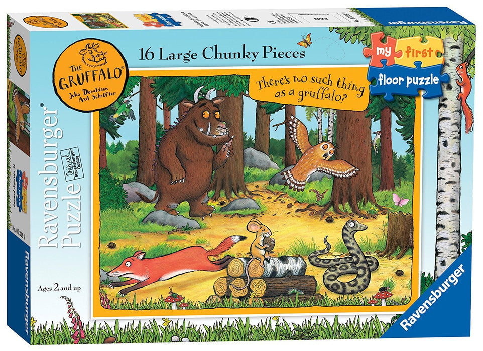 Ravensburger My First Floor Puzzle - The Gruffalo, 16pc Jigsaw Puzzles