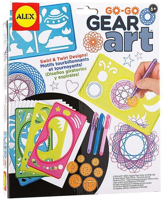 Alex Toys 33S Artist Studio Go Go Gear Art Craft