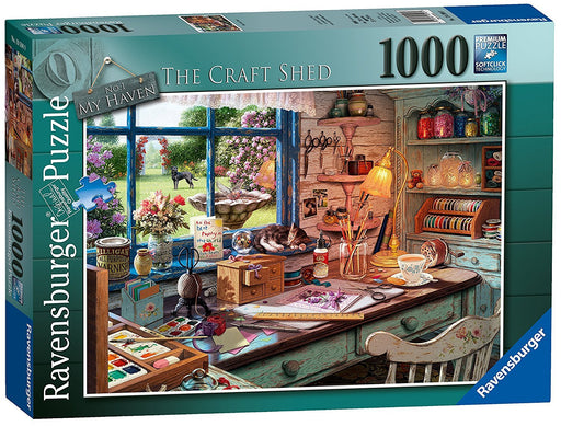 Ravensburger My Haven No 1. The Craft Shed 1000pc Jigsaw Puzzle