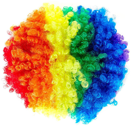 Carnival Toys 2347 - Wig Rainbow, Multi-Colour