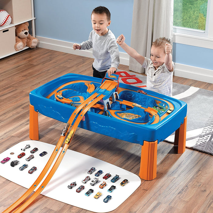 Step2 869600 Hot Wheels Car & Track Play Table