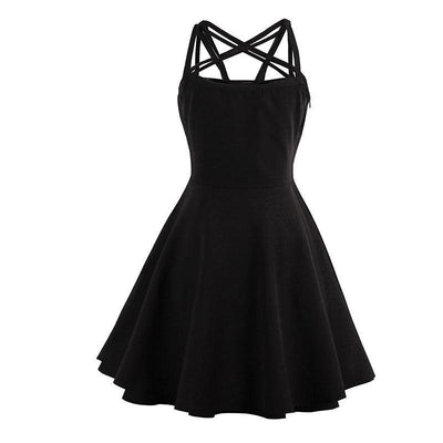 Makita Black Dress