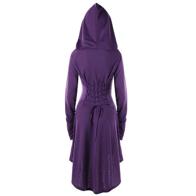 Middle Age Hoodie Dress