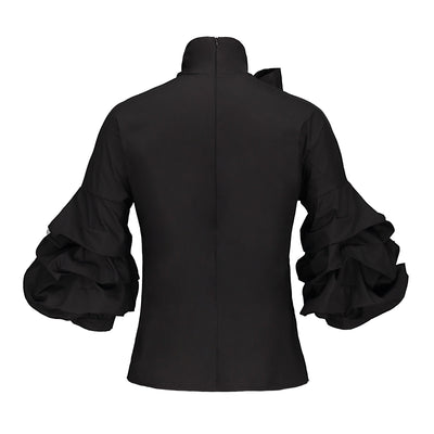 Bow Me Gothic Blouse