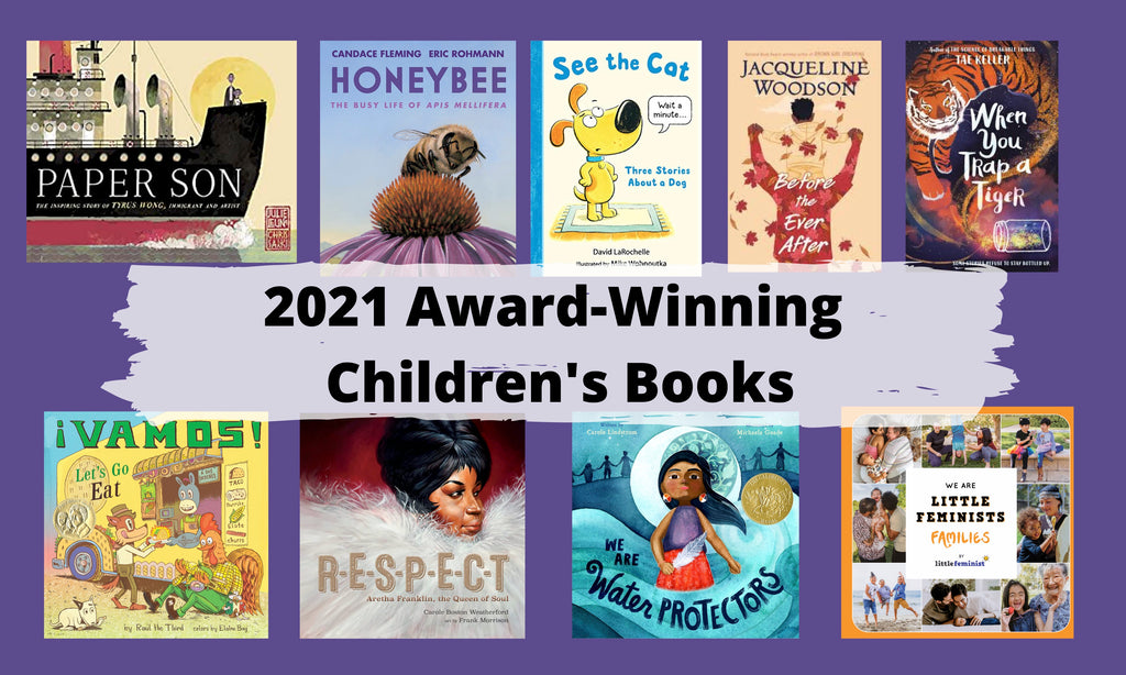 Read a Winner: 2021 Children's Book Award Winners