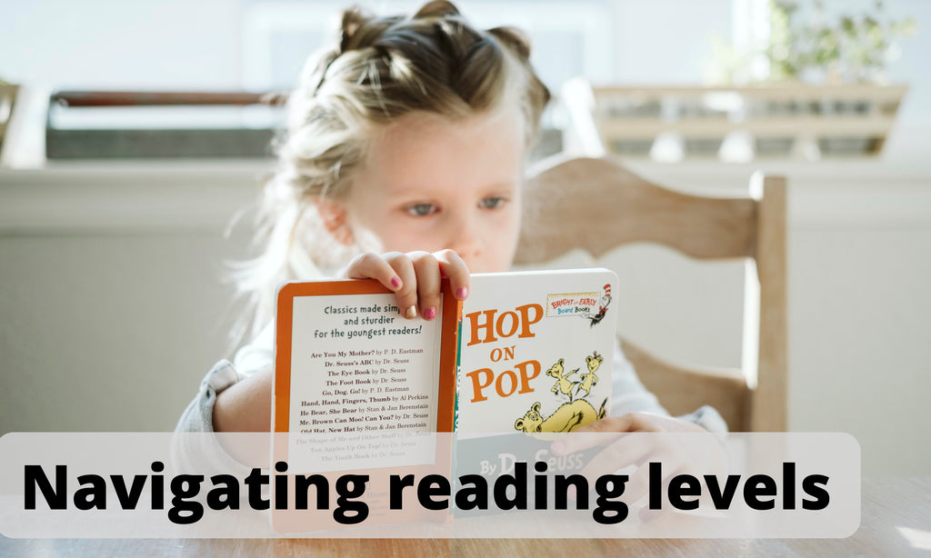 How to decipher reading levels