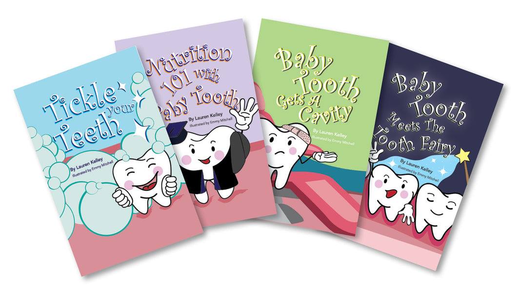 Dental Health Baby Tooth Book Series Box