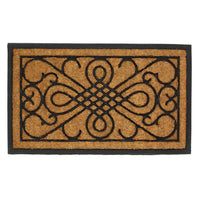 Scrollwork Design Entry Mat