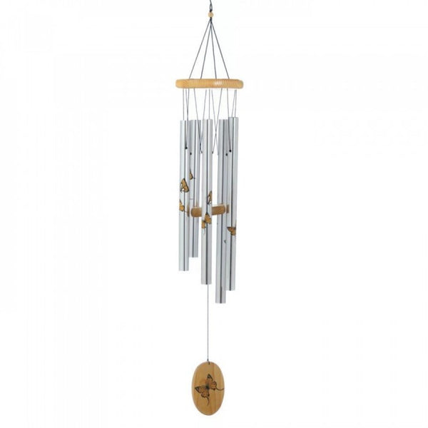 Printed Butterfly Wind Chimes