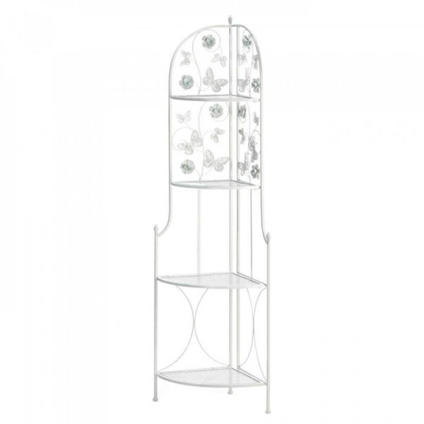 Butterfly 4-tier Corner Rack