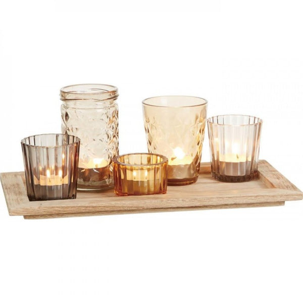 Harvest Candleholders Set Of 6