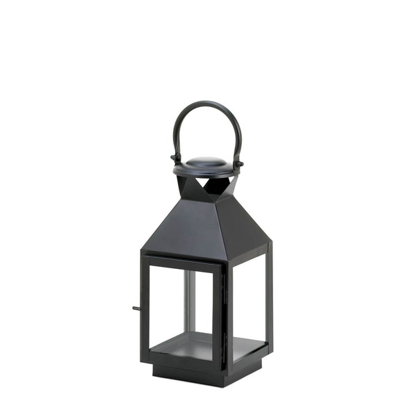 Medium Classic Black Candle Lantern