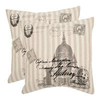 Lucas 2-piece 18'' x 18'' Throw Pillow Set