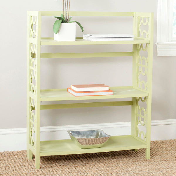 Safavieh Natalie 3-Shelf Low Bookshelf