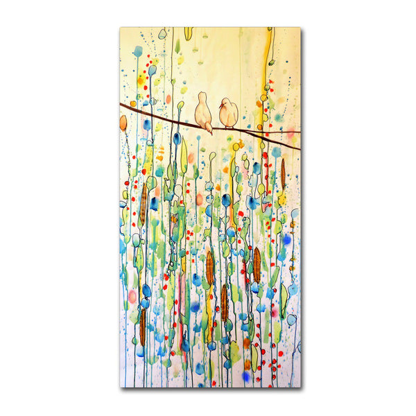 Trademark Fine Art Toi Et Moi Canvas Wall Art