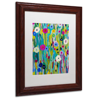 Trademark Fine Art Verdant Framed Wall Art