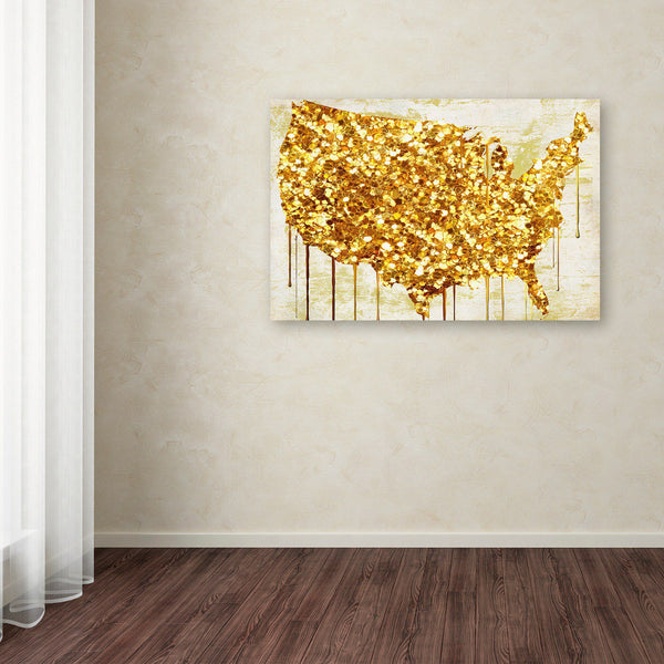 Trademark Fine Art American Dream IV Canvas Wall Art